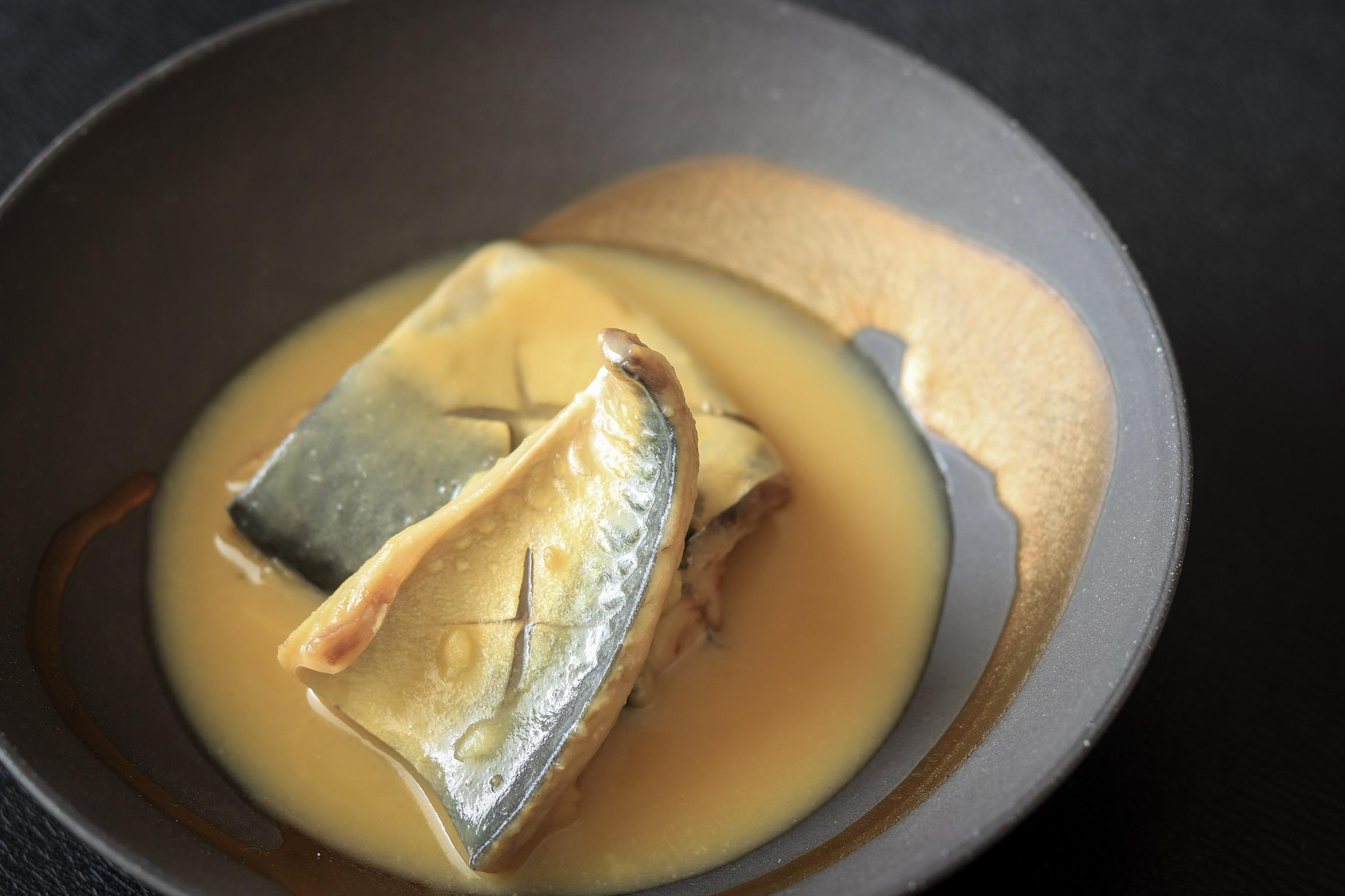 西京みそで作ったサバの味噌煮