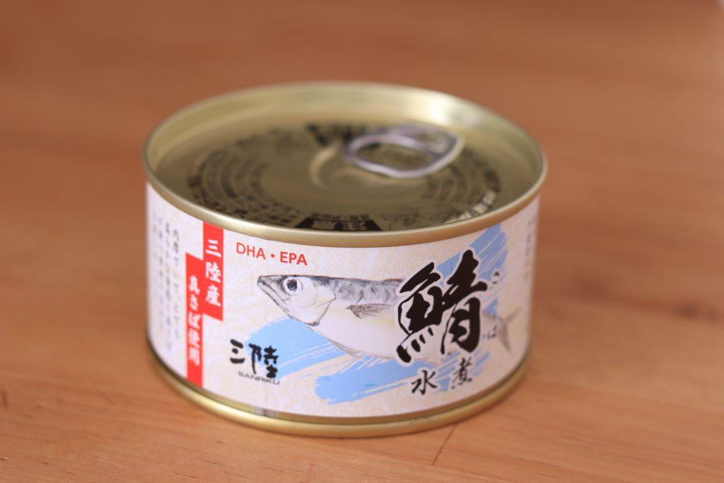 サバの水煮缶