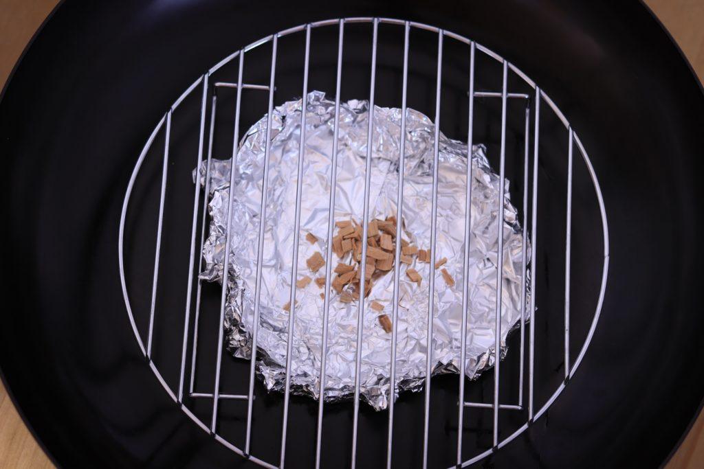 フライパンで燻製のセット