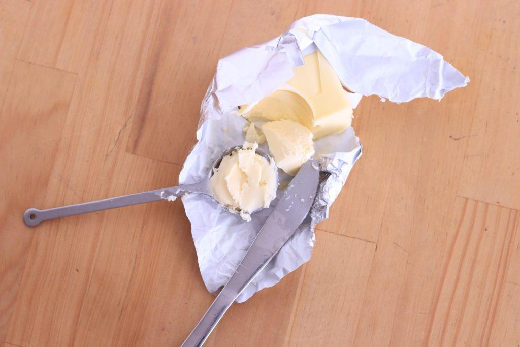 バターの大さじ